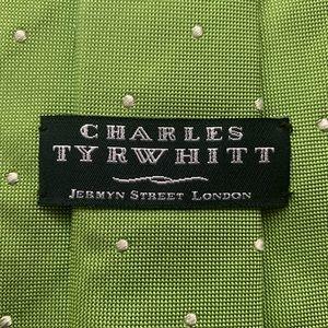 Charles Tyrwhitt Classic Green Silk Tie
